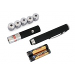 New 5 in 1 Green Laser Pointer 1mw Laser Pen 5 heads High Power